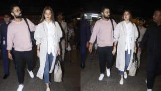Virat Kohli Escorts Wife Anushka Sharma at The Mumbai Airport And Their Pictures Will Give You Couple Goals Once Again