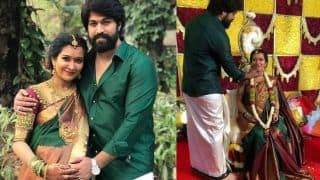 Kannada Star Yash And Wife Radhika Pandit Celebrate Baby Shower; See Pictures