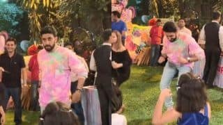 Abhishek Bachchan is a Perfect Doting Dad as he Dances And Plays Musical Chairs at Aaradhya's Birthday Party, See Videos