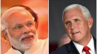 पीएम मोदी व अमेरिकी उप-राष्ट्रपति पेंस सिंगापुर में करेंगे मुलाकात, द्विपक्षीय संबंधों पर होगी चर्चा