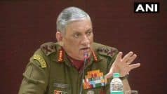 JeM Terror Camps in Balakot Re-Activated by Pakistan: Army Chief General Bipin Rawat