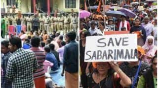 Sabarimala: Man Sets Himself Ablaze at BJP Protest Site; Police Says he Was Drunk