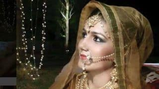 Haryanvi Hottie And Chetak Fame Sapna Choudhary Looks Beautiful And Sexy as She Sports Bridal Avatar For a Shoot, See Pic
