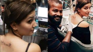 Haryanvi Hot Dancer Sapna Choudhary Gets a Desi Queen Tattoo at Her Back, See Picture