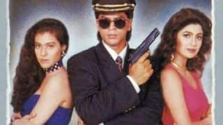 Shah Rukh Khan on 25 Years of Baazigar: King Khan Recreates The Most Famous Scene From Baazigar, Watch