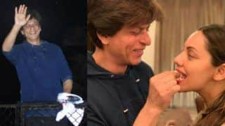 Shah Rukh Khan Celebrates 53rd Birthday with Cake, Mono Deal, Family and Fans