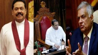 श्रीलंका: संसद में पीएम राजपक्षे के खिलाफ अविश्वास प्रस्ताव पारित, हटाए गए विक्रमसिंघे को राहत