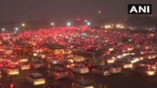 Dhanteras Evening Sees Massive Traffic Jam on Delhi-Gurugram Route; 6 km-bottleneck From Mahipalpur to Udyog Vihar