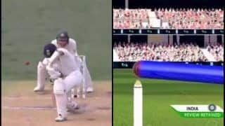 1st Test Adelaide: Cheteshwar Pujara Survives Another DRS After Umpire Gives Him Out of Nathan Lyon | WATCH