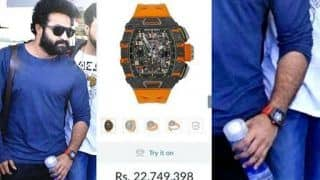 Jr NTR's Orange Watch is Worth Rs 2.5 Crore, Actor Wears it While Travelling For SS Rajamouli's Son's Wedding in Jaipur - See Photos