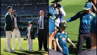 3rd Test: Australia's 7-Year-Old Co-Captain Archie Schiller Presented With Baggy Green From Nathan Lyon Ahead of Boxing Day Test vs India | WATCH