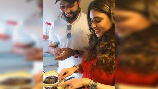 India Cricketer Rohit Sharma Apologises to Wife Ritika Sajdeh Ahead of Boxing Day Test vs Australia | PIC