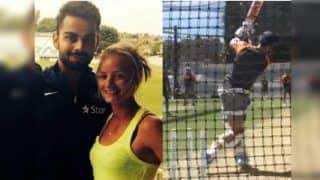 Danielle Wyatt's Reaction to Virat Kohli's Shot in Nets Ahead of India vs Australia 1st Test at Adelaide is Gold