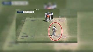 2nd Test Australia vs India Perth: Ravindra Jadeja, Ishant Sharma Fight With Each Other on-The-Field | WATCH