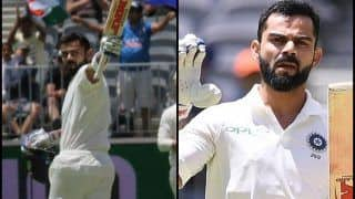2nd Test Australia vs India Perth: Virat Kohli Slams Record-Breaking Ton, Surpasses Sachin Tendulkar, Sunil Gavaskar For Fewest Innings to 25 Test Hundreds