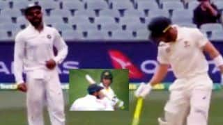 2nd Test Australia vs India: Centurion Virat Kohli Engages in Banter With Tim Paine | WATCH