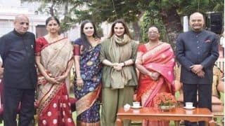 President Ram Nath Kovind Hosts 'At Home' Party in Residence, Several Dignitaries Including Sania Mirza Attends Function