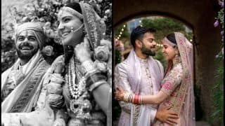 Virat Kohli, Anushka Sharma Post Golden Messages on 1st Wedding Anniversary | WATCH
