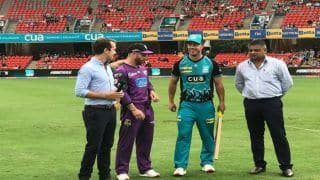 BBL 2018-19 Live Cricket Streaming: When And Where to Watch Brisbane Heat vs Hobart Hurricanes 5th T20 Online on Sony Liv, Jio TV App, TV Broadcast on Sony Sports, Squads, Probable XI, IST, Dream XI