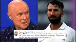 India vs Australia 3rd Test Melbourne: After Mayank Agarwal, Kerry O'Keefe Now Pokes Fun at Cheteshwar Pujara And Ravindra Jadeja - Twitter Slams Aussie commentator