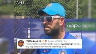 IPL 2019 Player Auction: Yuvraj Singh Goes Unsold After First Round of Bidding