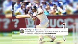 Australia vs India 3rd Test Melbourne: Twitter Hails Mayank Agarwal After Debutant Shows Good Temperament on Boxing Day Test