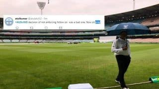 India vs Australia 3rd Test Melbourne: Indian Fans Pray For Rain to Stop, Australia Pray The Weather Forecast Comes True, Twitter is Abuzz With Update