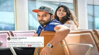 India vs Australia 2018 Tests: Harbhajan Singh Congratulates Father Rohit Sharma After Ritika Sajdeh Gave Birth to a Baby Girl