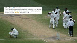 1st Test Australia vs India: Virat Kohli-Led India Create History, Sets Twitter on Fire