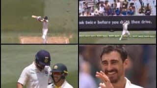 India vs Australia 3rd Test Melbourne: Virat Kohli Misses Out on Hundred, Mitchell Starc Gets The Wicket And Aaron Finch Completes The Catch | WATCH VIDEO