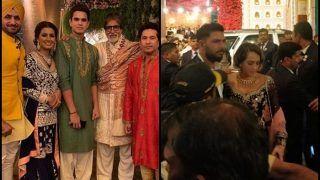 Isha Ambani-Anand Piramal's Wedding: Sahin Tendulkar, Yuvraj Singh, Anil Kumble, Harbhajan Singh Spotted With Amitabh Bachchan | PICS & WATCH VIDEO
