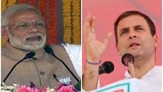 'भारत माता की जय' पर भिड़े पीएम मोदी और राहुल, एक-दूसरे पर साधा निशाना