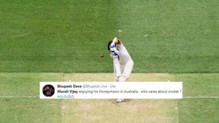 2nd Test Australia vs India: Murali Vijay Gets Trolled After Being Bowled by Mitchell Starc For a Duck at Perth