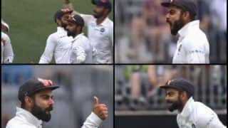 2nd Test Australia vs India: Virat Kohli Gives it to a Fan at Perth After Mohammad Shami Gets Shaun Marsh | WATCH