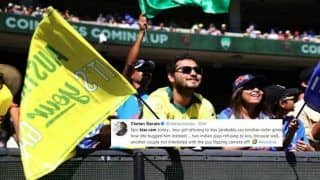 India vs Australia 3rd Test Melbourne: 'Kiss Cam' Steals Show in Melbourne Cricket Ground, Gives Twitter Reason to Cheer | WATCH