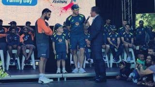 Australia vs India 3rd Test: Virat Kohli-Tim Paine Share Stage With Seven-Year-Old Archie Schiller | WATCH