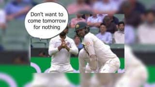 India vs Australia 3rd Test Melbourne: After Tim Paine, Rishabh Pant Sledges Nathan Lyon, Says 'Don't Want to Come Tomorrow For Nothing' | WATCH VIDEO