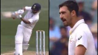 India vs Australia 3rd Test Melbourne: When Mitchell Starc Gave a Mouthful to Rishabh Pant | WATCH
