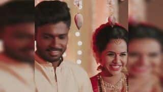 Sanju Samson Shares Heartwarming Message Thanking Fans For Love After Marriage With Collegemate Charulata & we Are Floored | WATCH