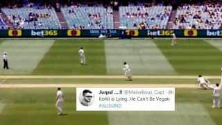 India vs Australia 3rd Test Melbourne: Cheteshwar Pujara Gives up Matching a 'Flying' Virat Kohli Between The Wickets, Twitter React Hilariously | WATCH