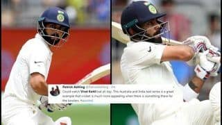 2nd Test Australia vs India Perth: Virat Kohli Hits 20th Fifty, Sets Twitter on Fire