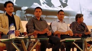 Legends of Indian Cricket Featuring Kapil Dev, MS Dhoni, Sunil Gavaskar, and Rahul Dravid Come Together For Panel Discussion