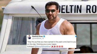 Happy Birthday Salman Khan: Rashid Khan to Suresh Raina, How Cricket Fraternity Wished Bollywood's 'Bhai' as he Turns 53