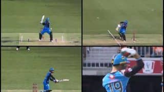 Big Bash League 2018-19: Rashid Khan Plays a Tennis-Like Shot For a Six Will Surely Make Roger Federer Proud | WATCH