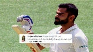 2nd Test Australia vs India: Virat Kohli Slams Record-Breaking 25th Test Century, Sets Twitter on Fire