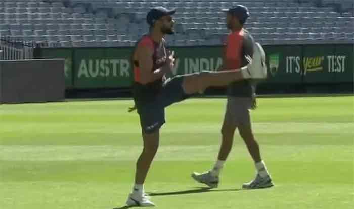 INDvsAUS: मेलबर्न में टीम इंडिया ने बहाया जमकर पसीना, तीसरे टेस्ट के लिए तैयार