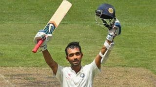 Ajinkya Rahane Scores Century On County Debut