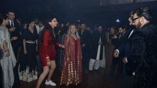 The Girls Are Winning: Amitabh Bachchan Mentions in Pictures From Deepika Padukone-Ranveer Singh Reception