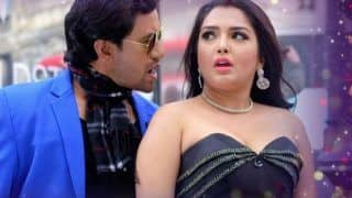 Bhojpuri Hot Rumoured Couple Amrapali Dubey And Dinesh Lal Yadav's Song Gori Tohar Kamar Lachkauwa Clocks Over 1.8 Million Views on YouTube - Watch