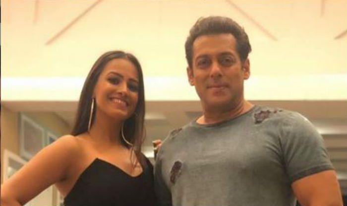Anita Hassanandani and Salman Khan